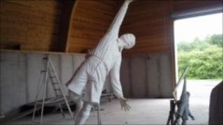 Arthur Wharton statue