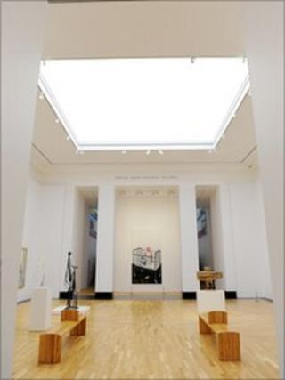 New galleries at National Museum of Art, Cardiff