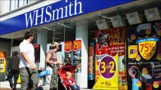 WH Smith store