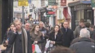 Walking in St Helier
