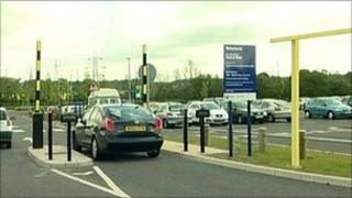 Park and ride site in Doncaster