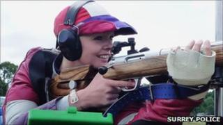 Pc Emma Nuttall has won her first senior GB cap