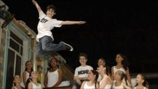 The cast of Billy Elliot the Musical