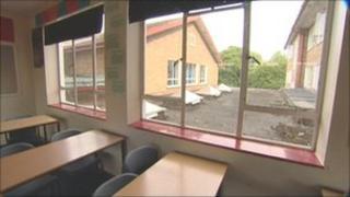 Hornsea School classroom