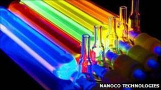Glowing quantum dots