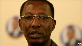 Chadian President Idriss Deby (2006 picture)