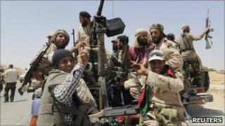 Libyan rebels. Photo: July 2011