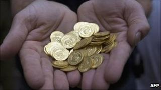 Gold coins - generic image
