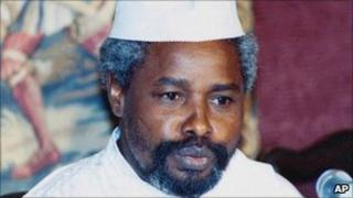 Former Chadian President Hissene Habre. File photo