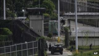 El Rodeo II prison on 20 June 2011