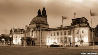 City Hall at Dusk, Marc Williams, submitted for Your Pictures in May 2011