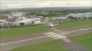 Filton airfield near Bristol