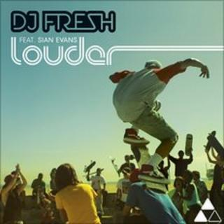 DJ Fresh Louder single cover