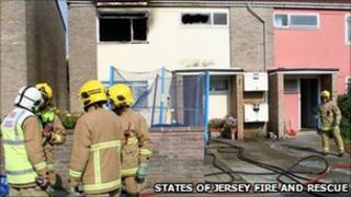 House fire at Clos Gosset