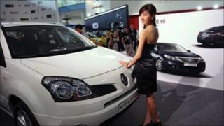 Renault Koelos on display at last month's Vietnam motor show