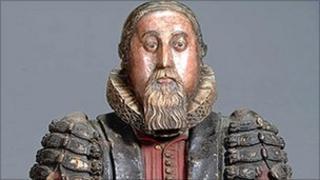 Bust of Dr Peter Turner