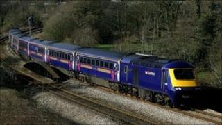 First Great Western train in Wales