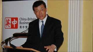 Ambassador Liu (picture courtesy of the China-Britain Business Council)