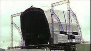 Oxegen stage