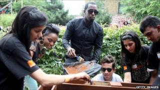 P Diddy at Toffee Park Adventure Playground and Youth Centre