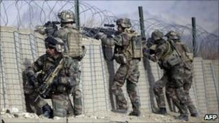 French troops in Afghanistan