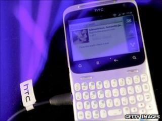 HTC ChaCha phone