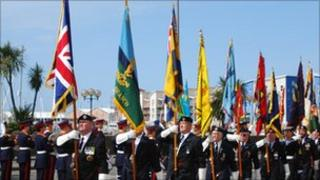 Liberation Day Parade in Jersey