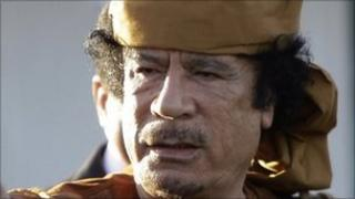 Muammar Gaddafi (April 2011 picture)