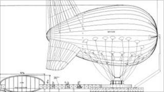 Blueprint for SkyFlyer base