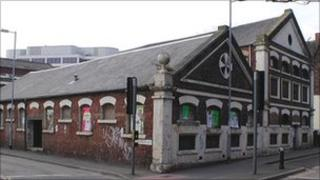 Old Paragon Laundry building, Swindon
