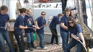 Tallships trainees