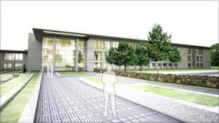 Image of plans for Kingswells business park