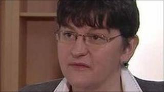 Economy Minister Arlene Foster