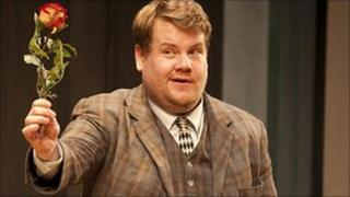 James Corden in One Man, Two Guvnors. Photo by Johan Persson