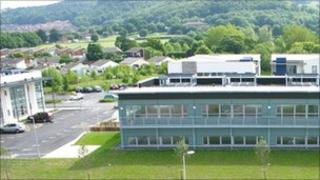 Part of the North Wales Business Park, Abergele