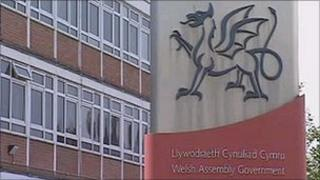 A Welsh Government office