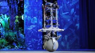 Dancing robot, copyright TED/James Duncan Davidson