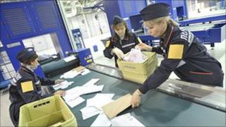 Russian Post sorting office (pic courtesy of Russian Post)