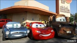 Scene from Cars 2