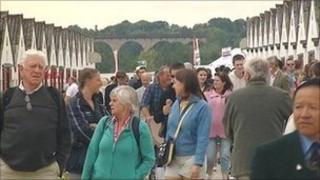 Crowds at Great Yorkshire Show