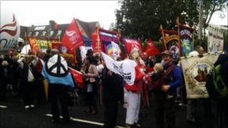 Tolpuddle march 2011