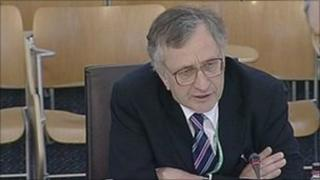 Dr Andrew Goudie, former chief economic adviser to the Scottish government