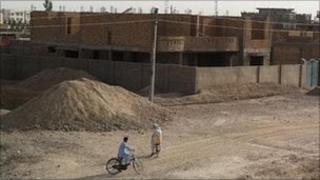Building site of luxury apartment in Lashkar Gah