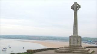 Padstow's war memorial