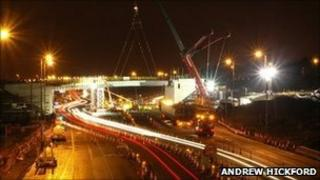 New A80 overbridge