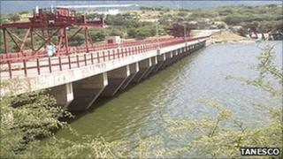 The Mtera dam which is on the Rufiji river basin