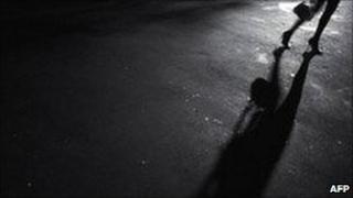A file photo of a prostitute