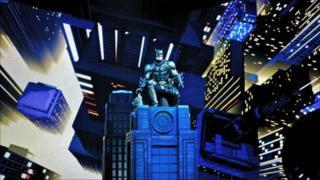Batman live set
