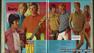 Images from a mail order catalogue
