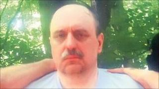 Picture of war crimes fugitive Goran Hadzic, taken shortly after his arrest on 20 July 2011.